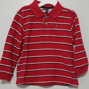 NWOT Tommy Hilfiger Boys Long Sleeve Polo